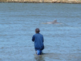 The fisherman have named each dolphin