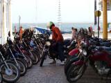 Motorbikes use less gas