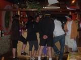 Rodrigo Litman entertains guests at the bar of Vida Sol e Mar resort.