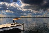 Dock In Sturgeon Lake 17443