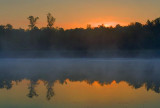 Scugog River Sunrise 17671