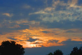 Clouded Sunset 18482
