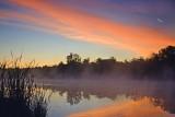Scugog River At Sunrise 18711