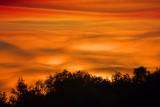 Lumpy Sunrise Clouds 20080906