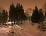 First Light Snowscape 12135-6