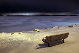 Bench Beside A Frozen River 12127-31