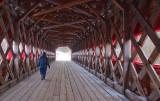 Wakefield Covered Bridge Interior 12403