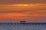 Fishing Pier In Sunrise 4947