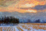 Snowscape 13559-60 Art