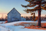 Barn At Sunrise 14526-7