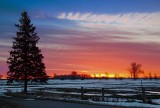 Sunrise Snowscape 20100309