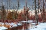 Thawing Jock River At Dawn 14865