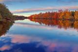 Autumn Sunrise On The River 09075