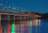 Champlain Bridge At First Light 15966-7