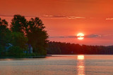 Newboro Lake Sunrise 20100531