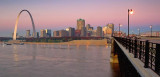 Saint Louis Skyline At Dawn 70542