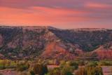 Palo Duro Canyon At Sunrise 71394