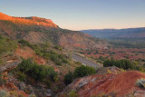 Palo Duro Canyon At Sunrise 71207