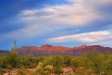 Arizona Scene Near Sunset 74129