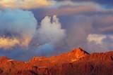 Mountain In Sunset Glow 75522