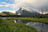 Rundle at Vermillion Lakes