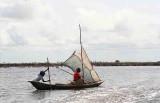 On the way to Ganvié, the village on stilts. Benin.