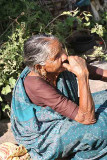 Old lady in Palakadu.