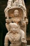 At Sri Ranganatha temple in Srirangam, Tamil Nadu.
