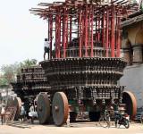 Temple chariot in Chidambaram, Tamil Nadu.
