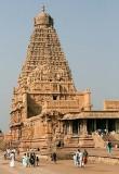 Brihadisvara temple in Tanjore, Tamil Nadu.