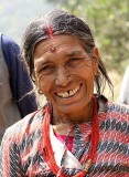 Lady near Nagarkot, Nepal.