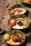 Offerings for the goddess, Dakshinkali, Nepal.