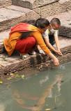 At holy Bagmati river Pashupatinath,  Nepal.