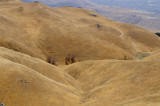 Brown hills of Monument Peak