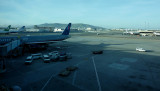 At SFO for our early evening flight