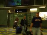 Bill thru the Arrival doors in Auckland