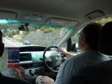 John driving in Queenstown