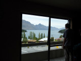 Our view of Lake Wakatipu for our nights lodgings.