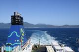 Our detour turn toward Wellington