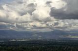 Big Clouds over the Santa Clara Valley