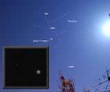 Comet 17P / Holmes near Perseus