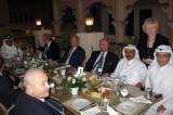 Dinner hosted by Sheikh Abdel-Rahman bin Saud al-Thani