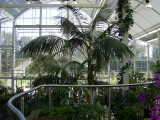 The newglass house at Wisley Gardens in Surrey.