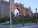 Atlantis hotel di Palm Tree Jumeirah