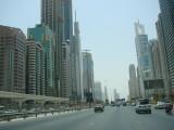 Jalan di downtown Dubai - skrg pake Salik (auto toll payment)