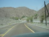 Road to Fujairah - sepi nggak ada orang lewat