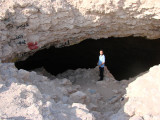 Musfer Sinkhole entrance