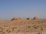 unusual shape of hill near Hofuf