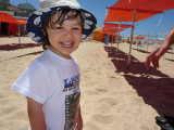 Na praia 2009-07-23