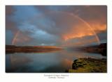 Columbia River Gorge Rainbow